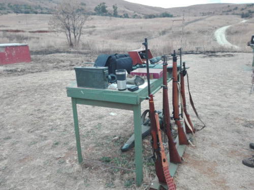 Collectors Shoot – Long Distance Rifle Held At Waterval Boven On 07th July 2018